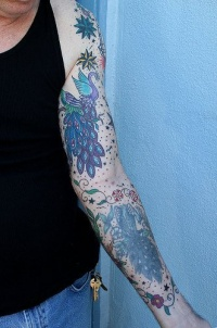 arm sleeve tattoo